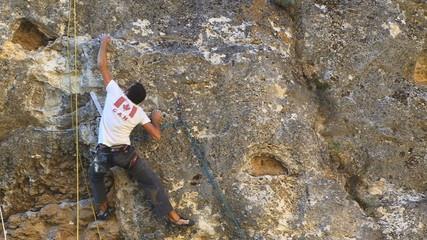 Climber Falling