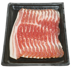 Raw Bacon Rashers