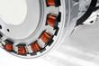 Leinwanddruck Bild - Electric motor