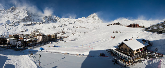 cervino look from cervinia,italy.