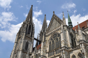 Dom-the Regensburg Cathedral,Germany(UNESCO site)