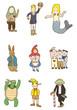 cartoon story people