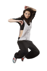 girl hip hop dancer