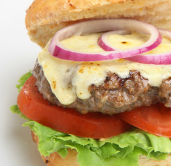 Home-made Cheeseburger
