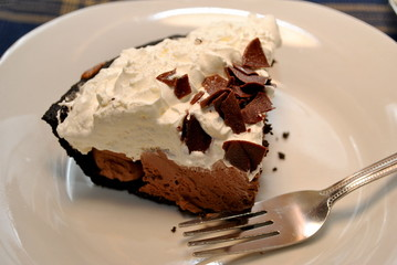 A Slice of Chocolate Cream Pie