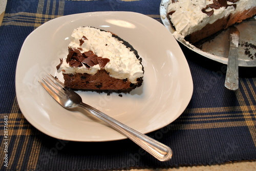 Yummy Chocolate Pie