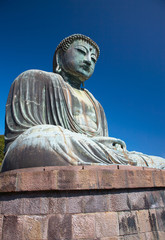 Great Buddha statue in Kamakura