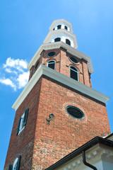 Christ Church Steeple, Old Town Alexandria VA, Georgian Style