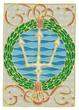 Постер, плакат: Ghirlanda Lancia Tritone colore