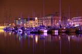 Port de Dunkerque, nocturne poster