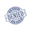 Denied rubber stamp
