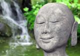 Fototapety Stein Buddha im Garten