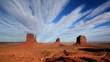 Monument Valley, Navajo National Park, USA.