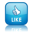 """LIKE"" Web Button (share comment recommend love it satisfaction)"