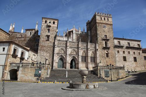 Real Monasterio De Santa Maria in Guadalupe Extremedura Spain.