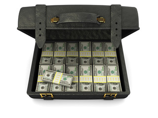 case with money