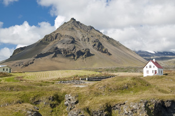 Granja en Islandia