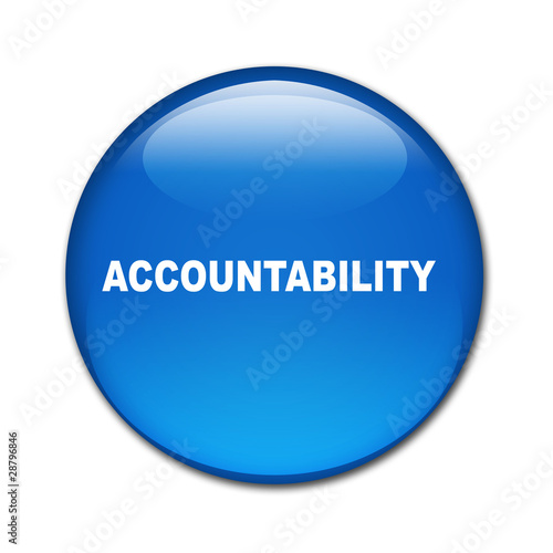 Boton brillante texto ACCOUNTABILITY