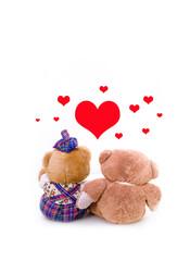 orsetti innamorati
