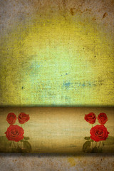 abstract romantic background for card or book cover