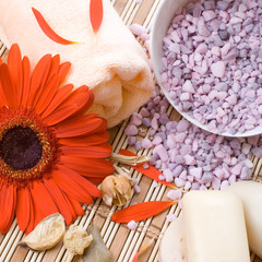 Aromatherapy and beauty treatment, composition.