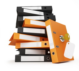 security documents and folders