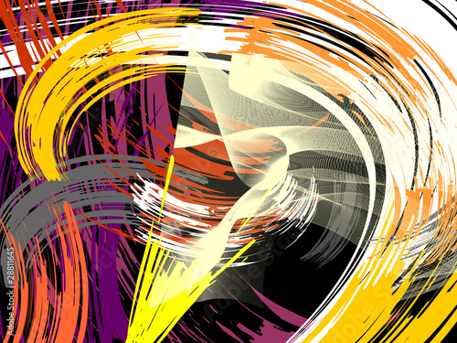 Plakat abstraction