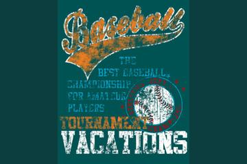 poster de beisbol