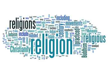 "World Cloud ""Religion"""