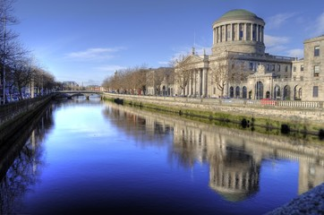 The Four Courts - Dublin, Ireland (Irland)