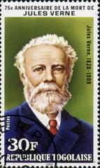 Jules Verne 1828-1905. République Togolaise.