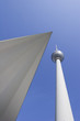 Berlin: Fernsehturm with triangle