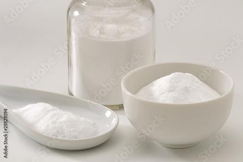Sodium bicarbonate.