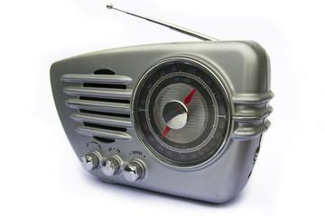 Groovy retro radio