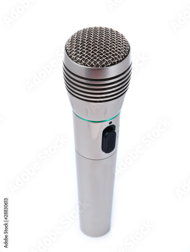 Single microphone