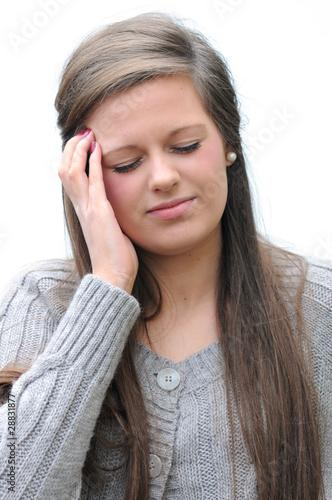 sore head