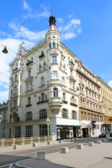 Beautiful old  building  in Vienna