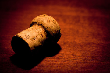 Cork from sparkling