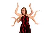 Dancer with Medusa Arms poster