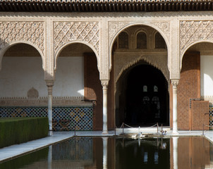 Myrtenhof der Alhambra