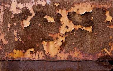 Rusty structure