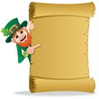 Leprechaun Scroll