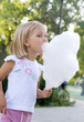 girl wit candyfloss