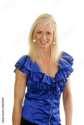Mature fashion model