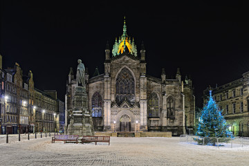St Giles Cathedral (the High Kirk), Edinburgh, Scotland