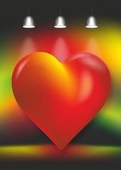 Herz Lampen