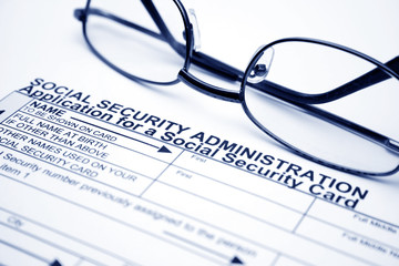 Social security card application