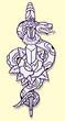 serpente rosa tattoo