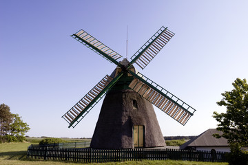 Windmill in Friesland, Germany