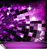Fototapety Rosa Disco Hintergrund